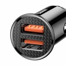 Baseus Dual QC3.0 2x USB biloplader - 30W