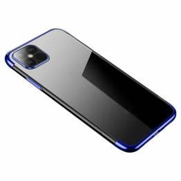 Clear Color cover til iPhone 12 mini - blå