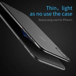 Baseus tyndt cover til iPhone x