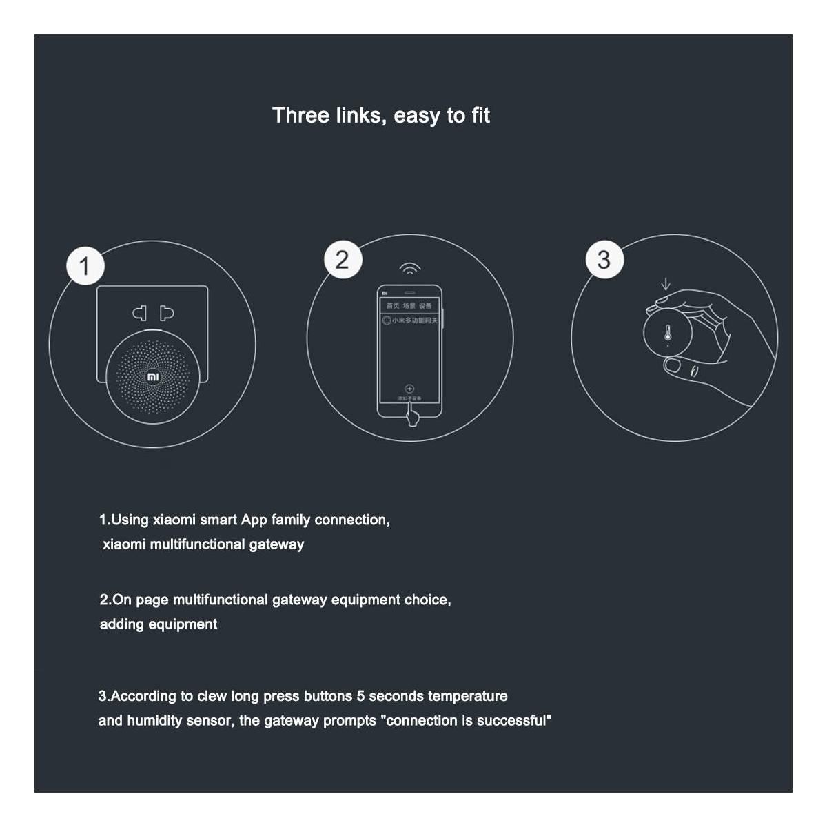 Xiaomi temperatur og fugtighedsmåler - Gixmo.dk