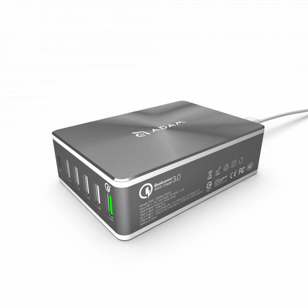 Image of   Adam Elements OMNIA Power Adapter 81w 6xUSB