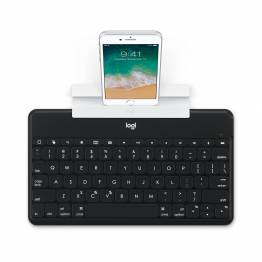 Logitech Keys-to-Go Ultra Slim-tastatur med iPhone/iPad-holder