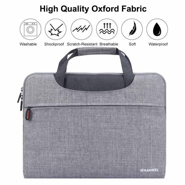 HAWEEL 13.3 inch Zipper Handheld Laptop Bag sort