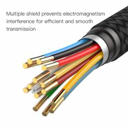 Baseus USB-C til HDMI kabel i vævet nylon på 1,8m