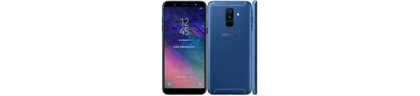 Samsung Galaxy A6+ Tilbehør, Covers, Beskyttelsesglas, kabler, adaptere og Reperationsudstyr