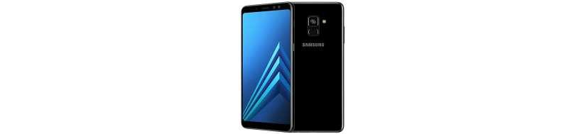 Samsung Galaxy A8+ Tilbehør, Covers, Beskyttelsesglas, kabler, adaptere og Reparationsudstyr