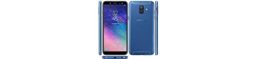Samsung Galaxy A6 Tilbehør, Covers, Beskyttelsesglas, kabler, adaptere og Reperationsudstyr